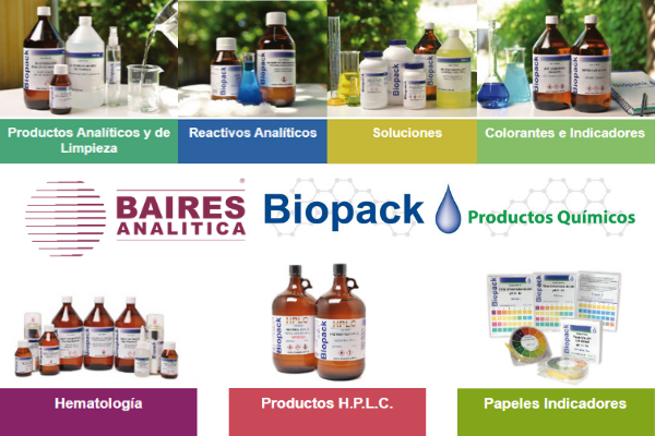 Insumos de laboratorio Biopack