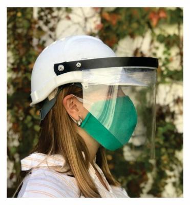 Mascara Facial Protectora Pet Para Casco Pack X 50