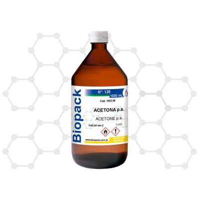 /acetona P.a. X 1000 Ml