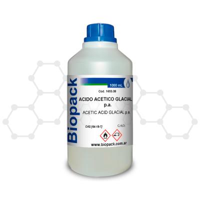 /acido Acetico Glacial P.a. X 1000 Ml