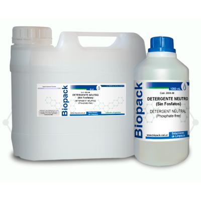 Detergente Neutro (sin Fosfatos) X 5000 Ml